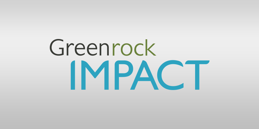 Greenrock IMPACT logo banner